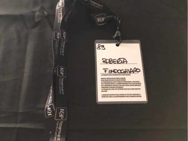 Concerto ELISA - tappa Acireale - badge