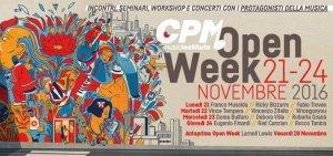 Mercoledì 23 Novembre 2016: CPM OpenWeek – Voice MasterClass