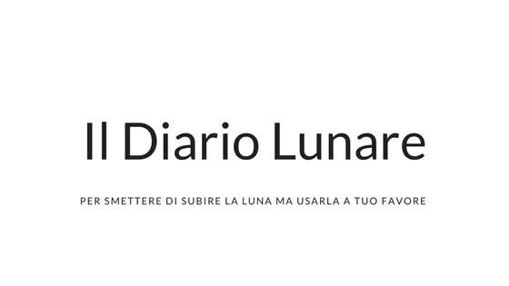 Calendario Lunare Ottobre 2020.Il Diario Lunare Cosa Come E Perche Farlo Roberta Zanetti
