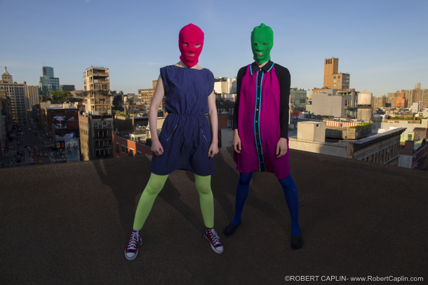 Pussy Riot in New York City