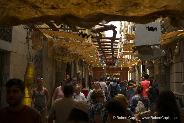 Les Festes de Gràcia. Photo by Robert Caplin