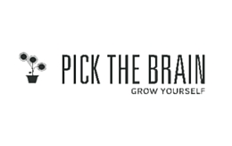 Pick the Brain logo