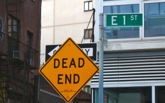 Dead End Sign New York