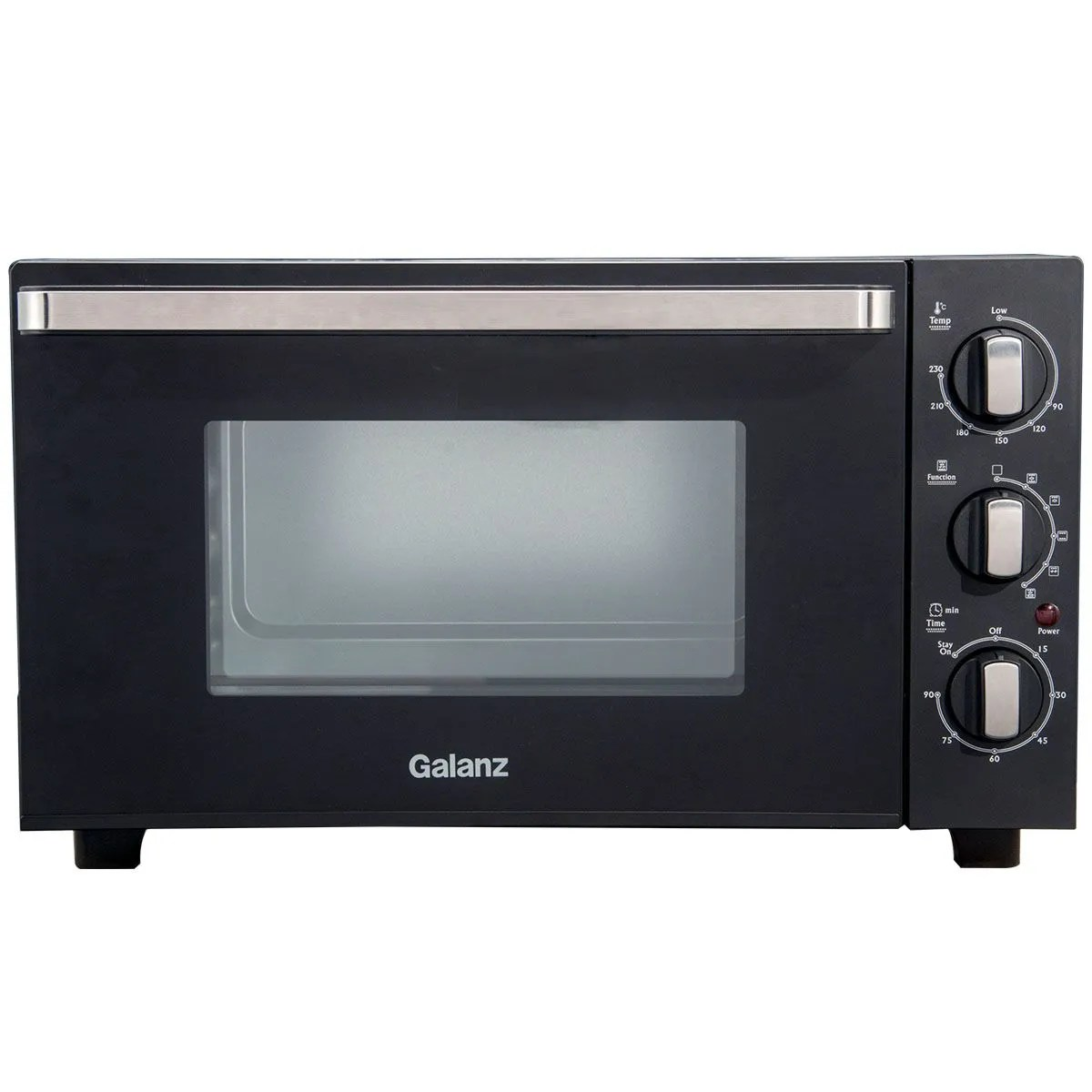 galanz mouk001b 30l 1500w mini convection oven black