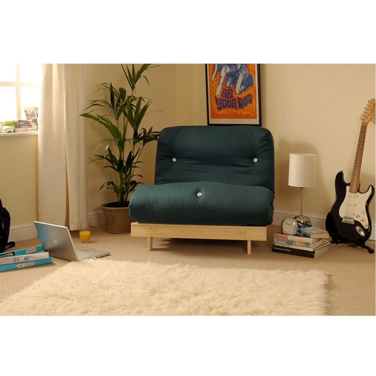 Albury Sofa Bed Set With Tufted Mattress Dark Green Robert Dyas