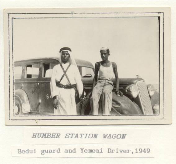 Humber station wagon, 1949