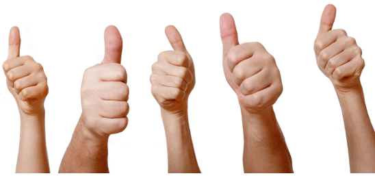 mortgage thumbs up