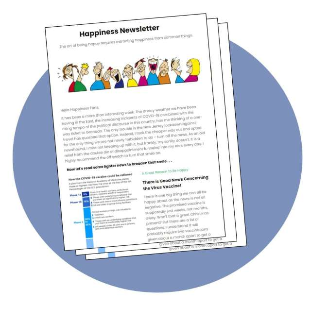 Happiness Newsletter