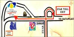 lipa map