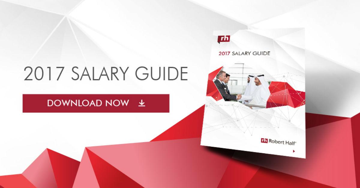 2017 Salary Guide  Robert Half