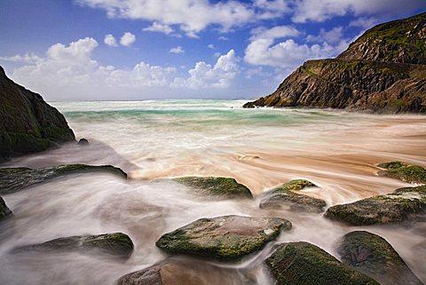 Coumeenoule Strand, Slea Head, Dingle Peninsula, County Kerry, Munster, Republic of Ireland, Europe