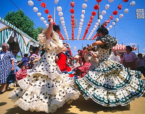 Feria de Abril, Seville, Spain
