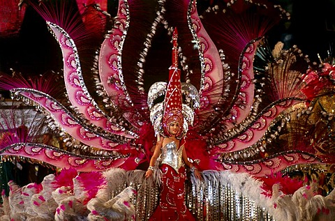 Election of the Carnival Queen, Santa Cruz de Tenerife, Tenerife, Canary Islands, Spain, Europe