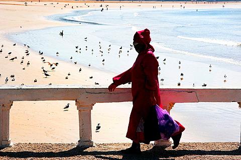Beach of Essaouira Morocco