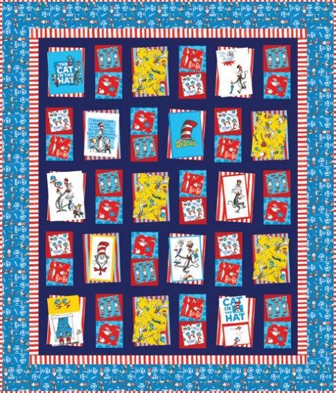 bump thump panel quilt