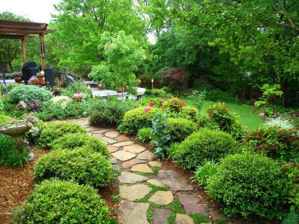 planting perfect landscape