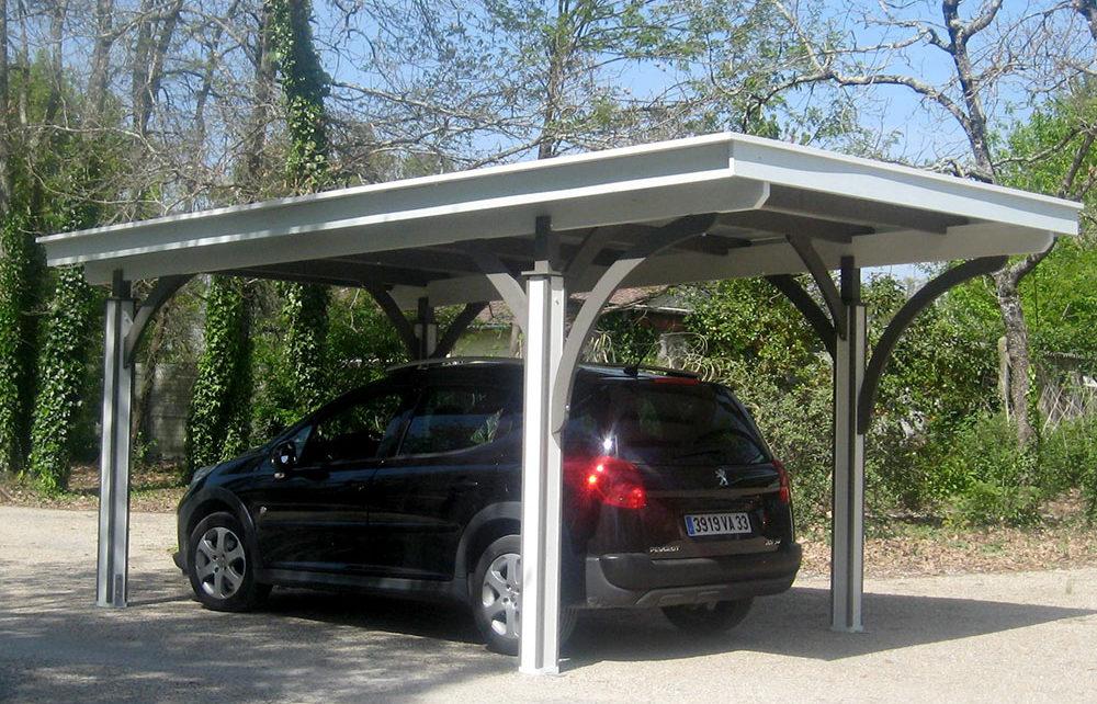 carport et abri voiture en bois