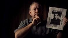 Arthur Budzinski with flyer he and others circulated accusing Fr Laurence Murphy of abuse