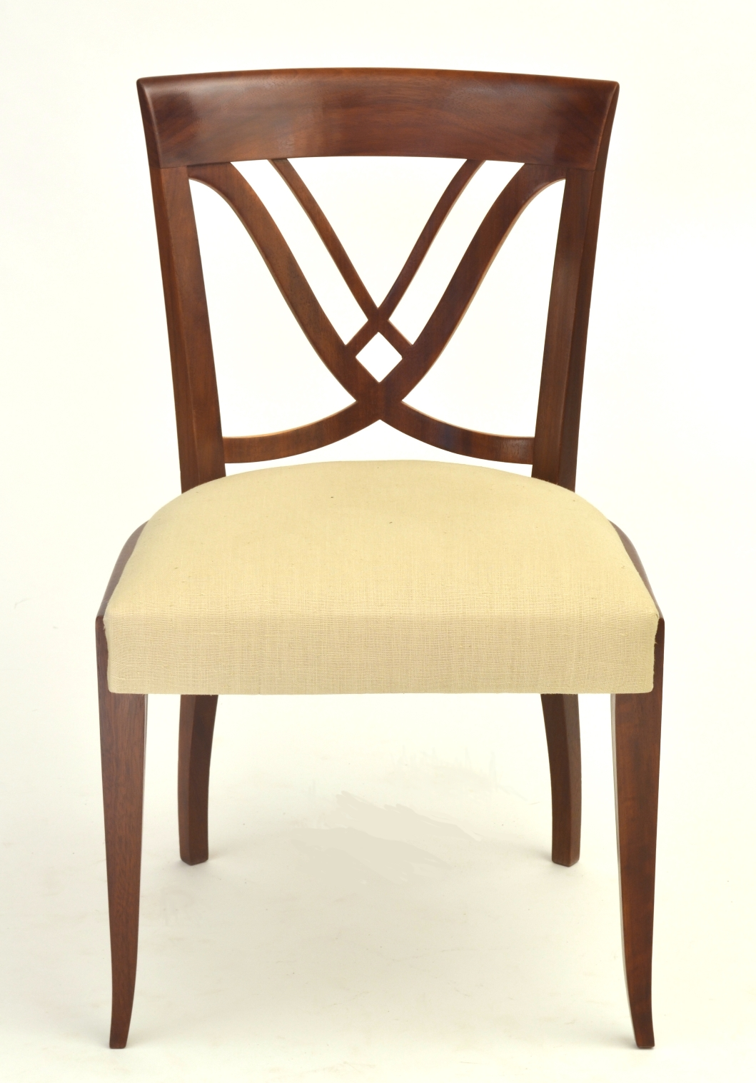 Robert Morrissey Antiques Set of Six Art Deco Dining Chairs