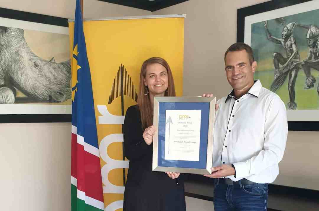 "Arebbusch Travel Lodge Has Scooped The Prestigious PMR ""Diamond Arrow"" Award For 2020 | Robert Nienaber"