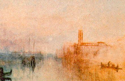 Venezia dal vedutismo di Bison e Caffi alle suggestioni europee di Turner