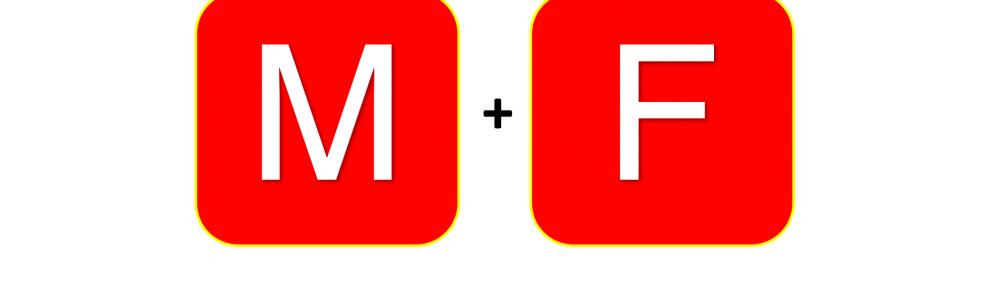 Logo M + F