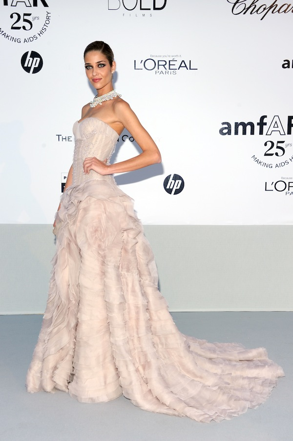 Ana Beatriz Barros in Roberto Cavalli @ 2011 amfAR's Cinema Against AIDS Gala 19-05-2011