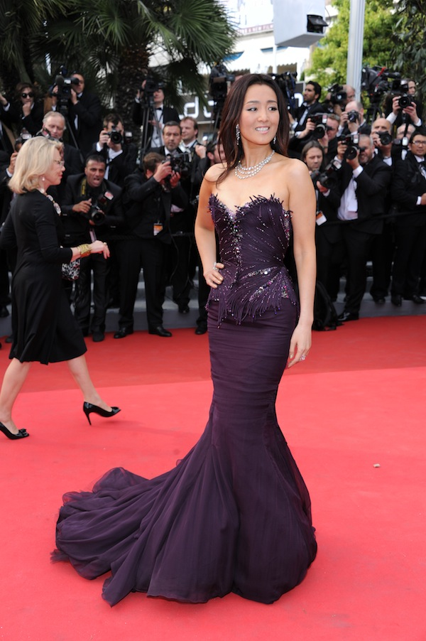 Gong Li in Roberto Cavalli @ Cannes Film Festival 2011 Opening Ceremony 11-05-2011