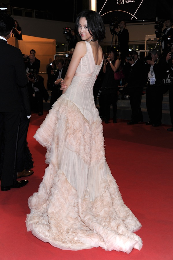 Tang Wei in Roberto Cavalli @ Cannes Film Festival 2011 'Wu Xia' premiere 13-05-2011