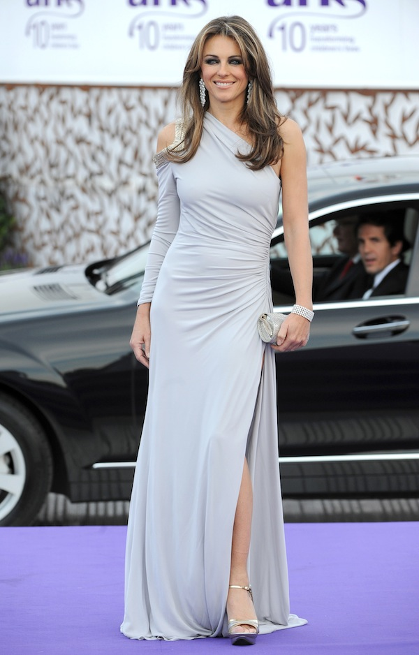 59c07fc9ecd8 Elizabeth Hurley on occasion of the 10th ARK Gala at Perks Field held in  London