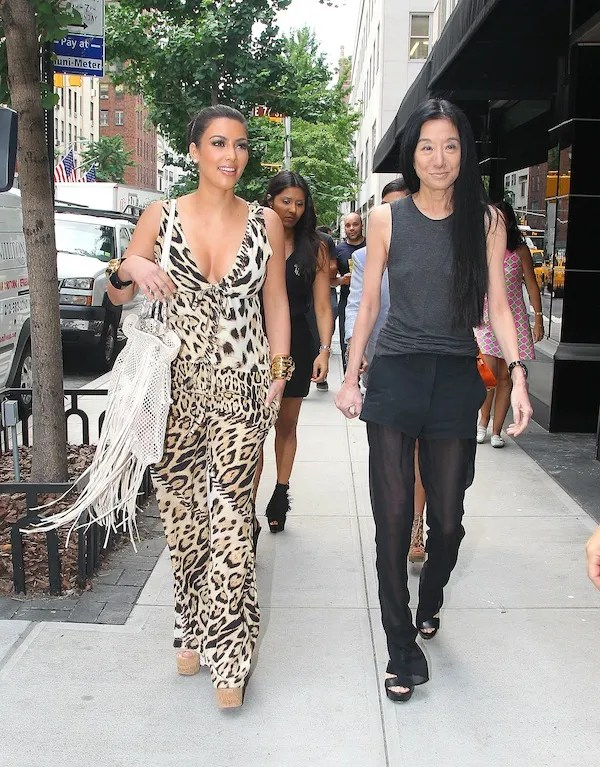 Kim Kardashian and Vera Wang talk wedding dresses over lunch in NYC