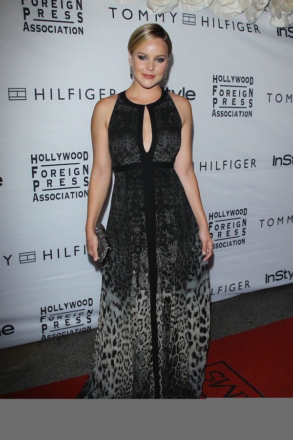 Abbie Cornish in Roberto Cavalli