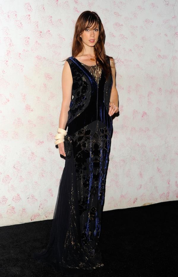 Elettra Wiedemann chose to wear a Roberto Cavalli