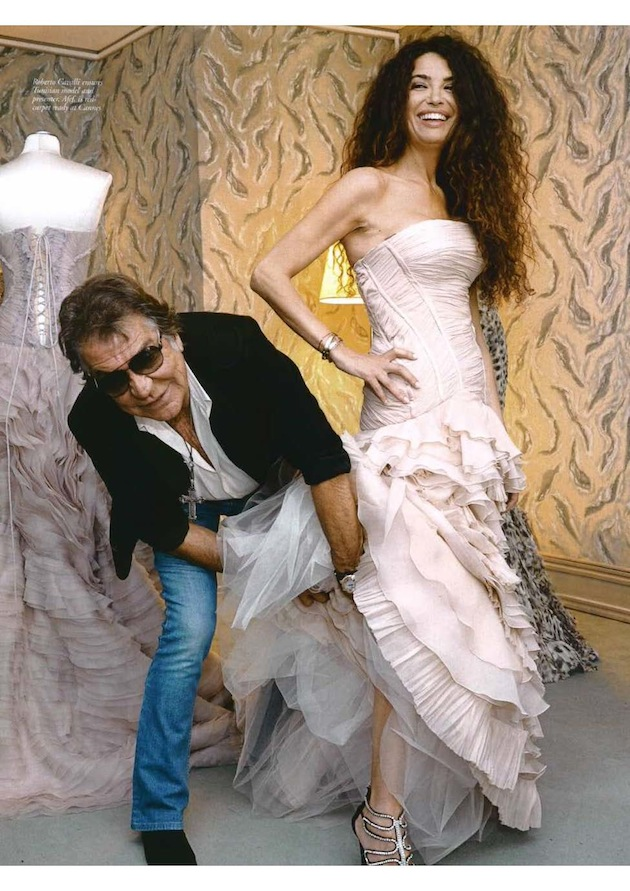 Harper's Bazaar Arabia: Roberto Cavalli special feature shot during the Cannes Film Festival 2011