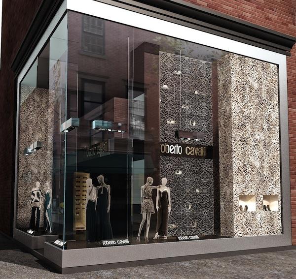 Roberto Cavalli Flagship Store New York