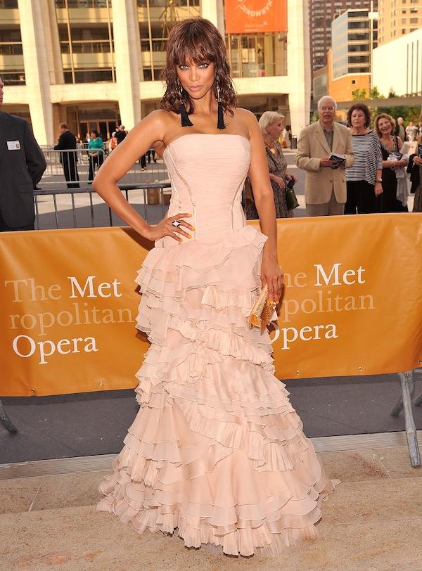 Tyra Banks in Roberto Cavalli