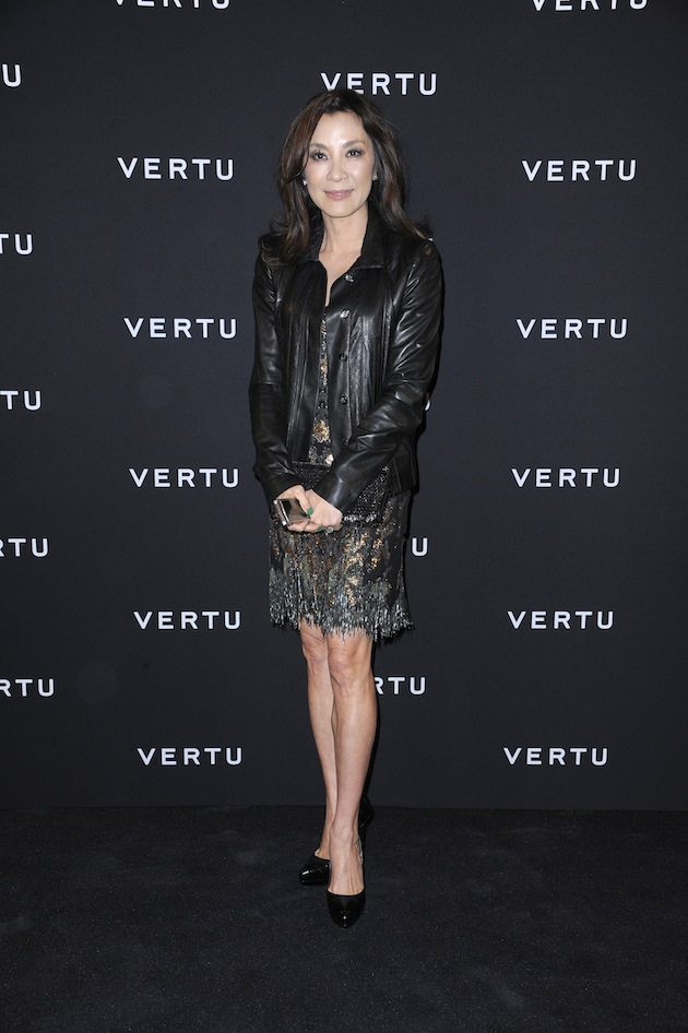Michelle Yeoh chose to wear outfits by Roberto Cavalli