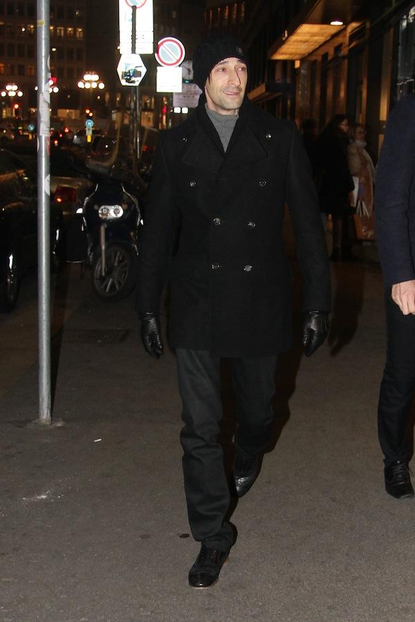 Adrien Brody in Roberto Cavalli