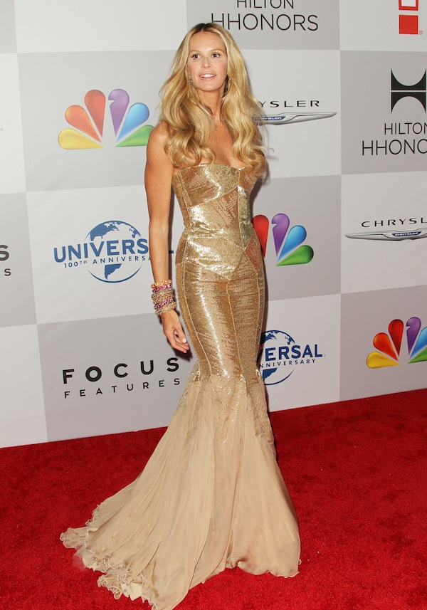 Elle Macpherson in Roberto Cavalli - 69th Golden Globe Awards After Party
