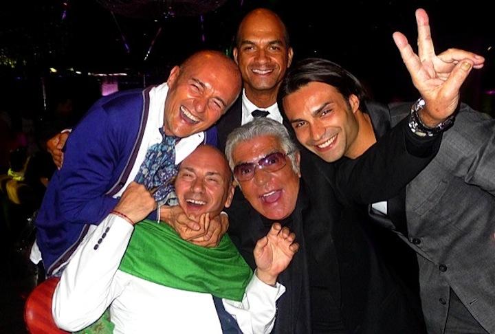 Roberto Cavalli - Alfonso Signorini - Gina