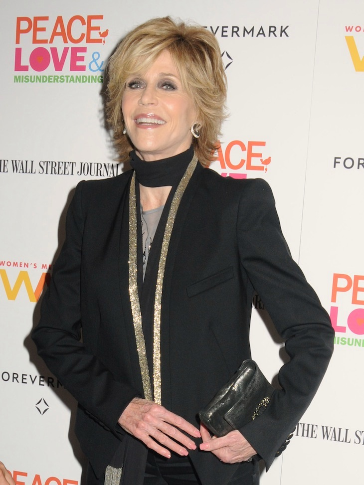 Jane Fonda in Roberto Cavalli