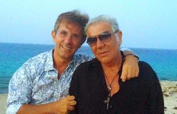 Roberto Cavalli with Vincenzo Novari