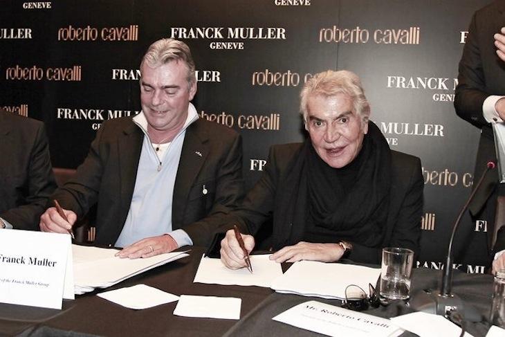 Roberto Cavalli - Franck Muller
