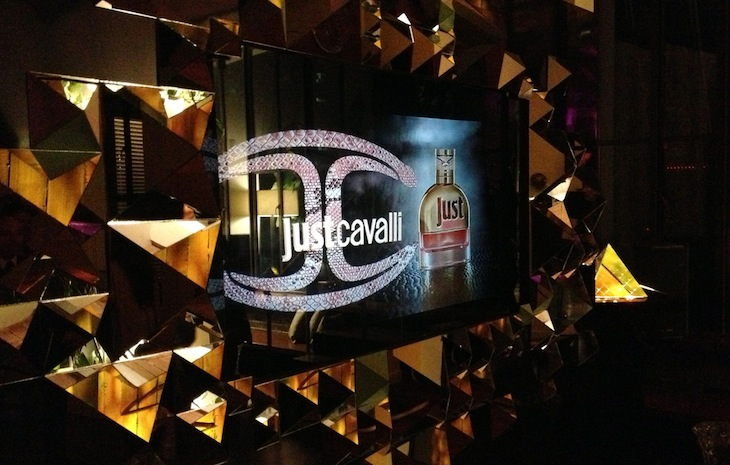 Roberto Cavalli - Just Cavalli perfume launch