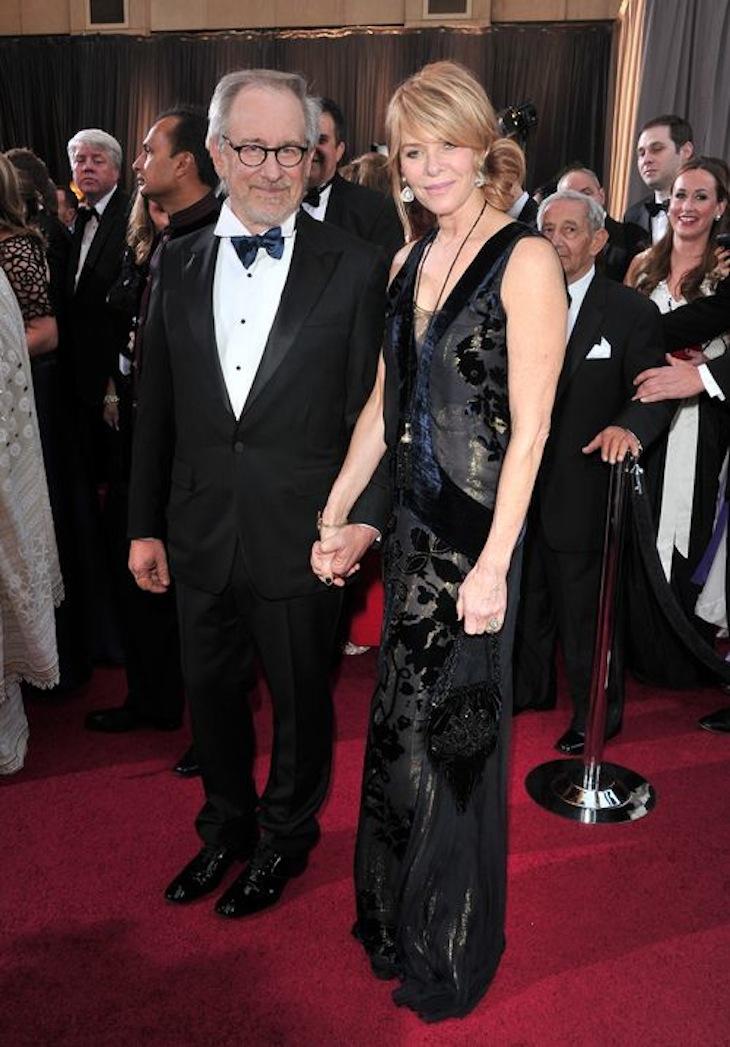 Kate Capshaw in Roberto Cavalli