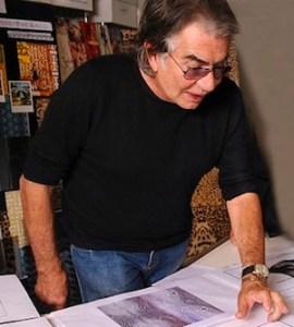 Roberto Cavalli @ work