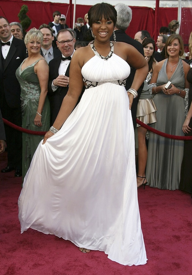 Jennifer Hudson in Roberto Cavalli at the Oscar - 2008