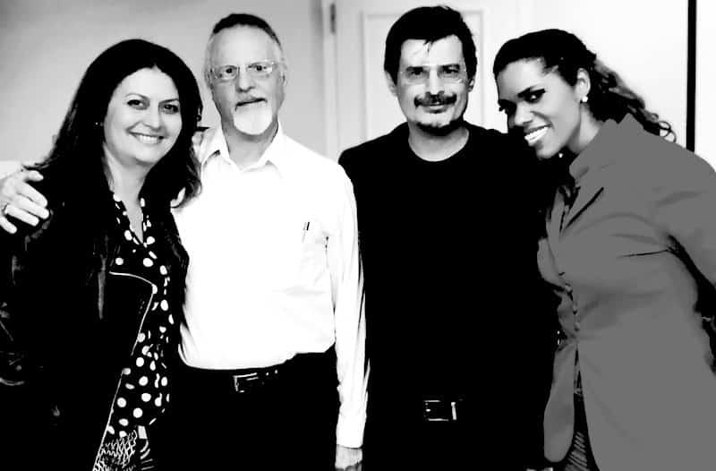 Luciana, Walt, Roberto e Alicia