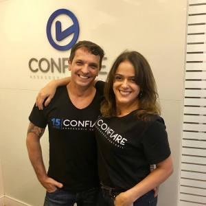 Arnaldo dos Santos e Cristiane Andrade