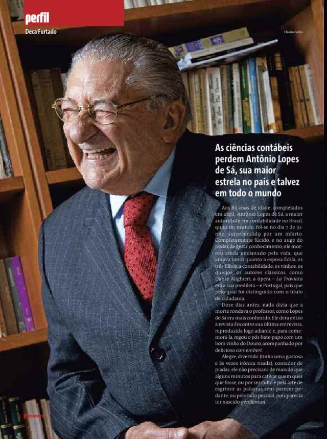 Prof.Dr. Antônio Lopes de Sá